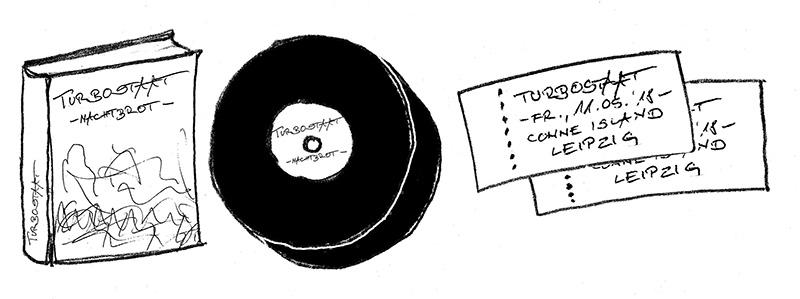 Turbostaat 11.05.2018 & 12.05.2018 + Livealbum incl photobook Comboticket incl. Vinyl and presale