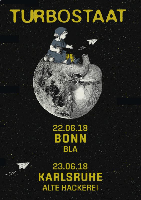 Turbostaat 23.06.2018 Karlsruhe Ticket inkl. VVK-Gebühr