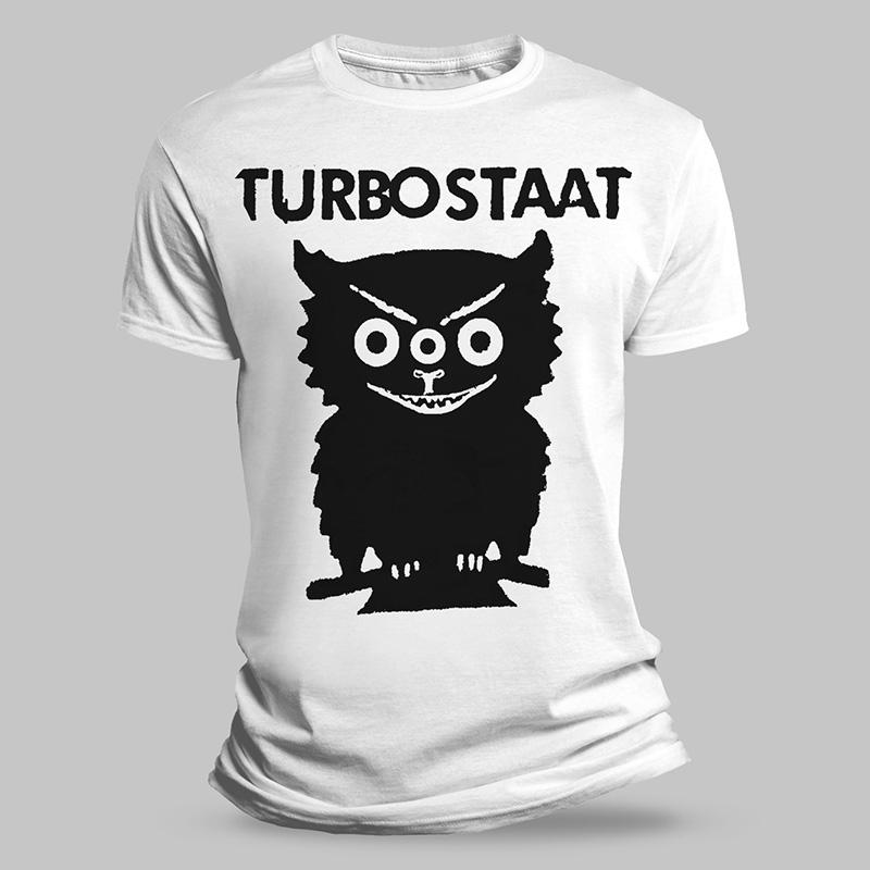 Turbostaat 30.01.2021 Flensburg, Volksbad T-Shirt inkl. Einladung
